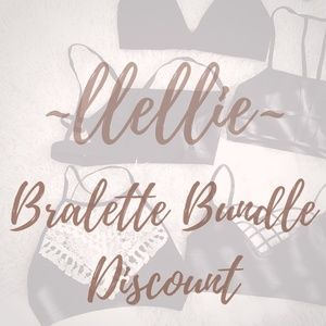 Other - BRALETTE discount on 2